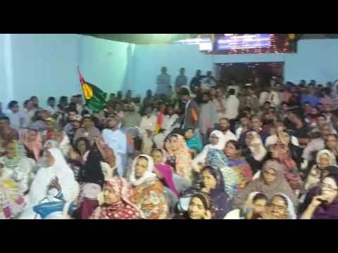 Huge Crowd at District South Office Karachi, Khalil Hoath
