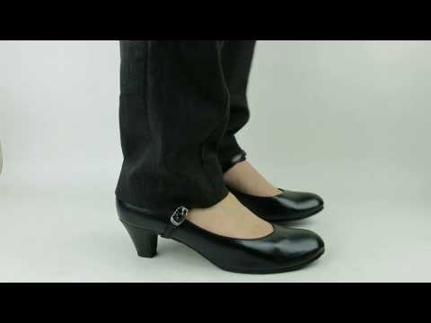 大きいサイズと小さいサイズの靴専門店 フォーマルストラップ5cmヒールパンプスNK-3179