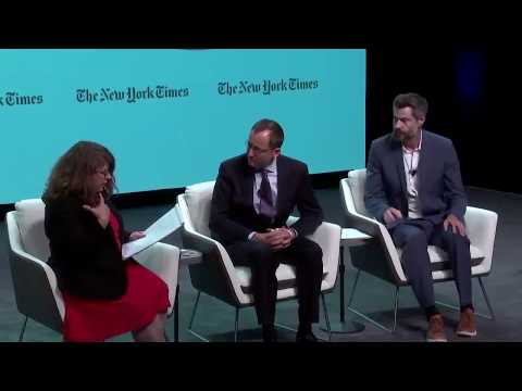 Terrestrial Energy's Simon Irish at NY Times 2017 ClimateTECH