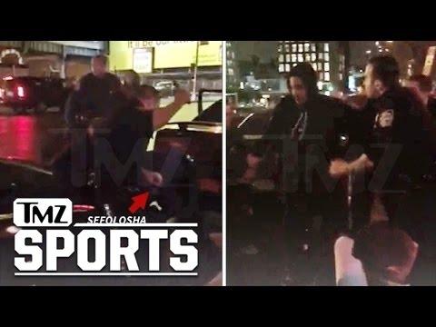 Thabo Sefolosha: NEW Video of Arrest ...NYPD Officer Swung Baton | TMZ Sports