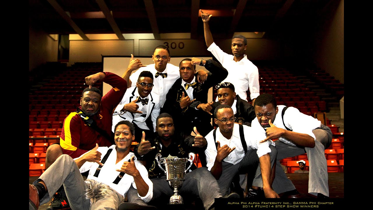 Alpha Phi Alpha Fraternity Inc., Gamma Phi Chapter TUHC14 ...