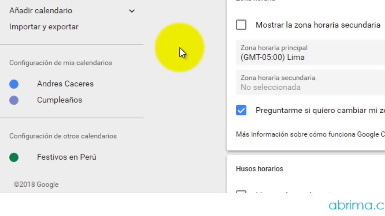 Anadir Calendario.Como Crear Otro Calendario En Google Calendar