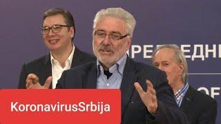 Neodgovoran odnos Predsednika Aleksandra Vučića i Dr Nestorovića prema pandemiji Koronavirusa