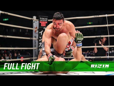 Full Fight   マルコス・ヨシオ・ソウザ vs. ファルコ・ネト / Marcos Yoshio Souza vs. Falco Neto - RIZIN.21