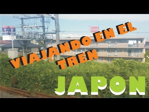 Japon Narita Tokio Nagoya - Viaje en tren