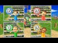 Wii Party Minigames - Player Vs Oscar Vs Fritz Vs Naomi
