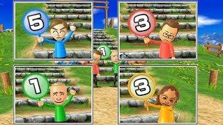 Wii Party Minigames - Player Vs Oscar Vs Fritz Vs Naomi