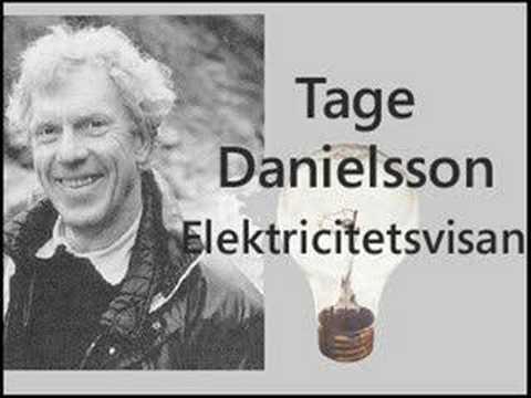 Tage Danielsson - Elektricitetsvisan