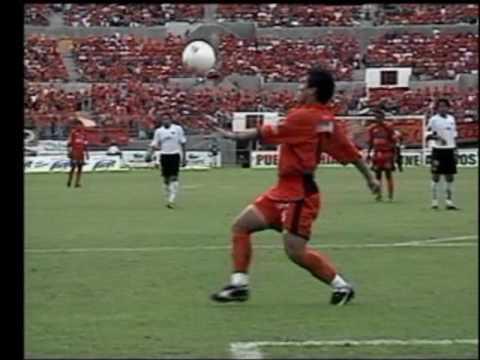 LOS GOLES DE SALVADOR CABAÑAS EN EL APERTURA 2004 CON JAGUARES
