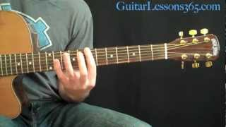 She Talks To Angels Guitar Lesson - The Black Crowes - Complete Acoustic Song
