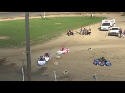 Mini Wedge 10 14 yrs Feature Race at Crystal Motor Speedway, Michigan on 09-16-2018!
