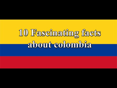 10 FACTS ABOUT COLOMBIA - YouTube