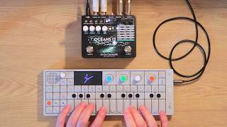 Electro Harmonix Oceans 12 + Synths // Sound Demo (No talking)