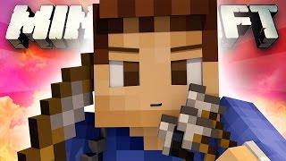 POWER 3 DESTRUCTION?! (Minecraft: EPIC BATTLE-DOME - WOOF VS MITCH!)
