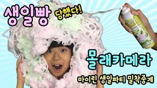 [Birthday Party Prank Live] MyLynn's Birthday Party at Seoul National Forest! Snow Buddy - MyLynn TV