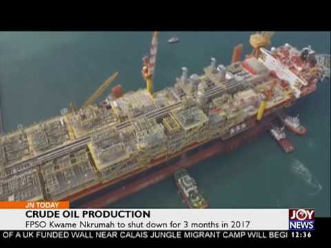 Crude Oil Production - Business on Joy News Today (7-9-16)