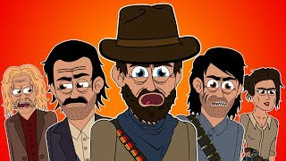 ♪ RED DEAD REDEMPTION 2 THE MUSICAL - Animated Parody Song