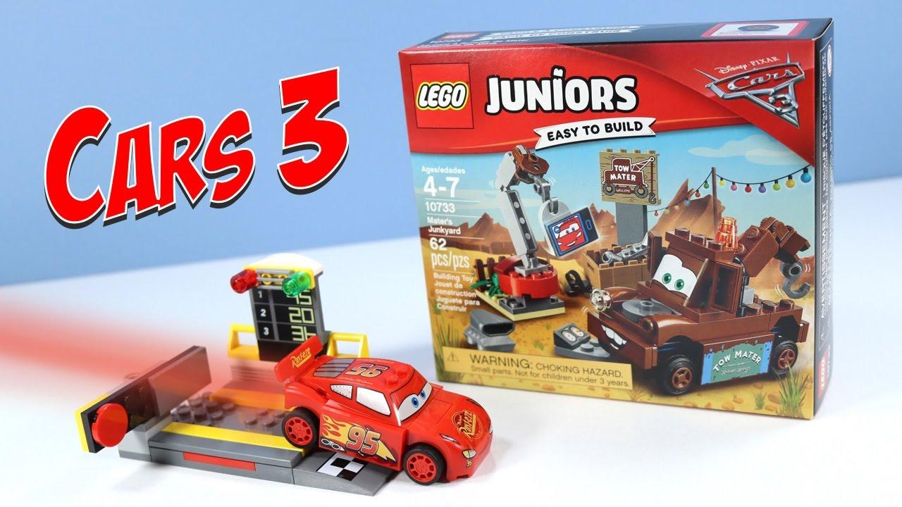 Junkyard Launcheramp; Mater's Lightning Pixar Disney Cars Juniors Mcqueen Lego 3 CoWxBerd