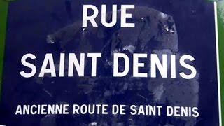 Rue Saint Denis Paris Arrondissement  1er et 2e
