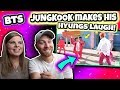 BTS JUNGKOOK makes his hyungs laugh! : Reaction