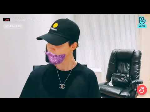 """BTS Vlive - Jimin playing Agust D """"Give it to Me"""""""