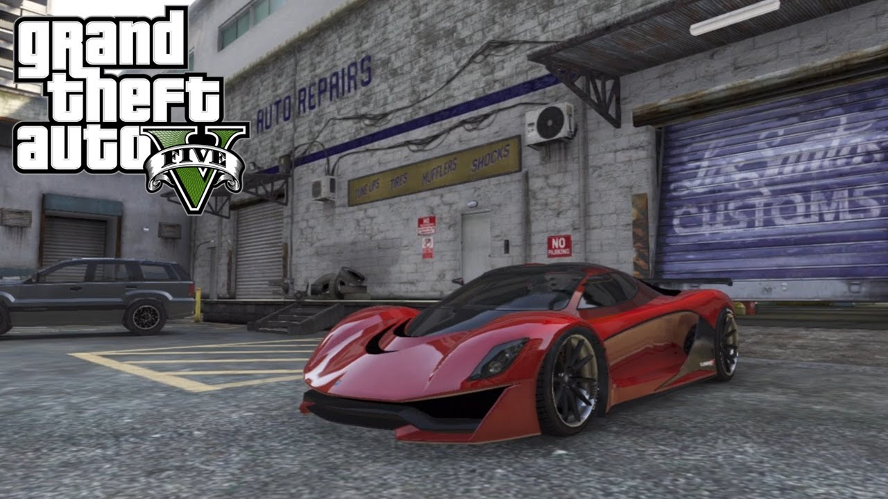 "GTA 5 ONLINE: ""BUSINESS DLC"" PACK - ""GROTTI TURISMO R ..."