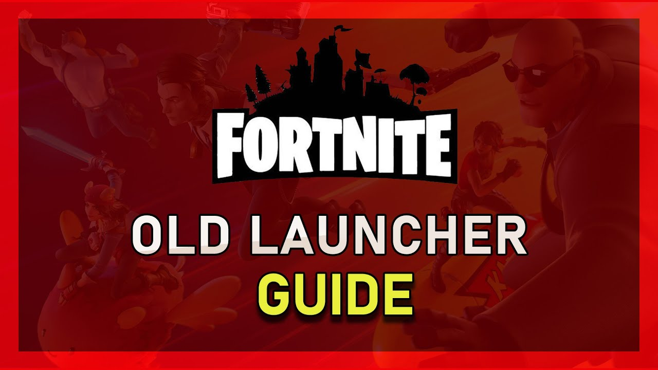 Fortnite Season 7 - How to Use Old Launcher - YouTube