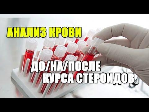 АНАЛИЗЫ КРОВИ до/на/после КУРСА