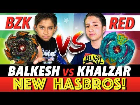 Beyblade Burst : New Hasbro Khalzar Vs Balkesh Ultimate Battle!