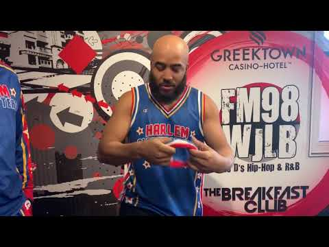 Dr Darrius - Win PREMIUM Tickets To See The Harlem Globetrotters, Saturday at LCA