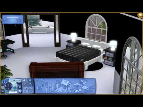 Maison moderne les sims 3 3ch et 2 sdb youtube for Maison moderne sims 3