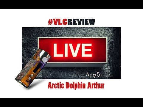 Arctic Dolphin Arthur - Vapelikegeek Review LIVE