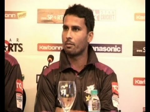 Faisalabad Wolves player Mohammad Salman pre match conference