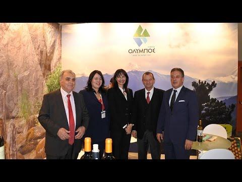 Υποδοχή της Υπουργού Τουρισμού από Ηλ. Χατζηχριστοδούλου   Greek Tourism Expo Athens 2015