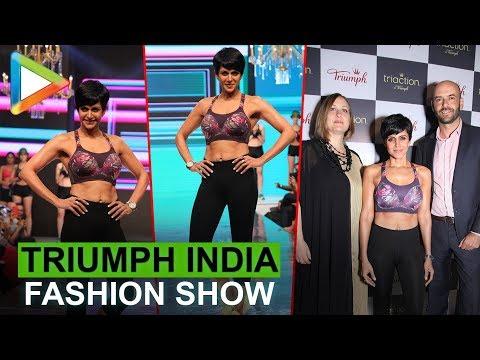 Uncut: Mandira Bedi @Triumph India Fashion Show 2018