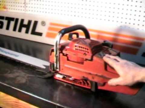 The chainsaw guy shop talk Jonsered 2071 Chainsaw 12 31.AVI