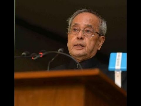 Live: President Shri Pranab Mukherjee's address on the eve of Independence Day