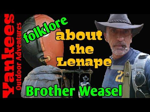 Lenape folklore (brother weasel)
