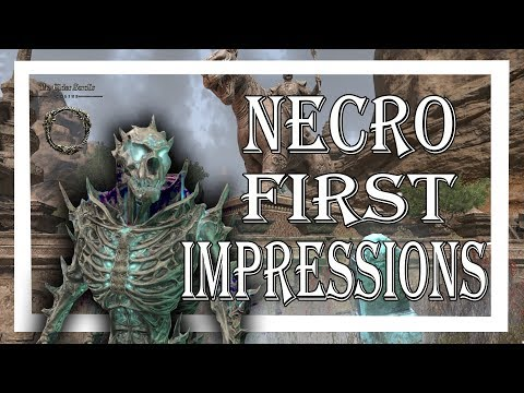 Repeat ESO Elsweyr - Necromancer Class FIRST IMPRESSIONS