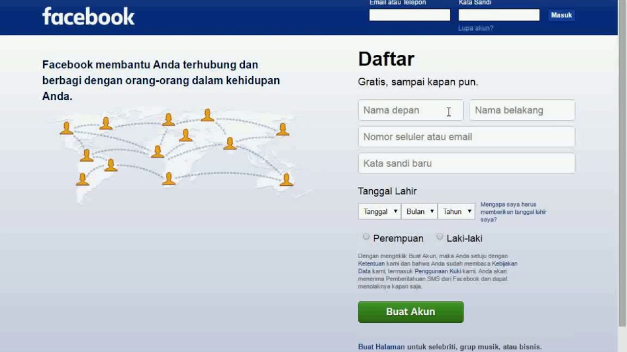 Cara Menonaktifkan Akun Facebook Fb Untuk Sementara Waktu Youtube