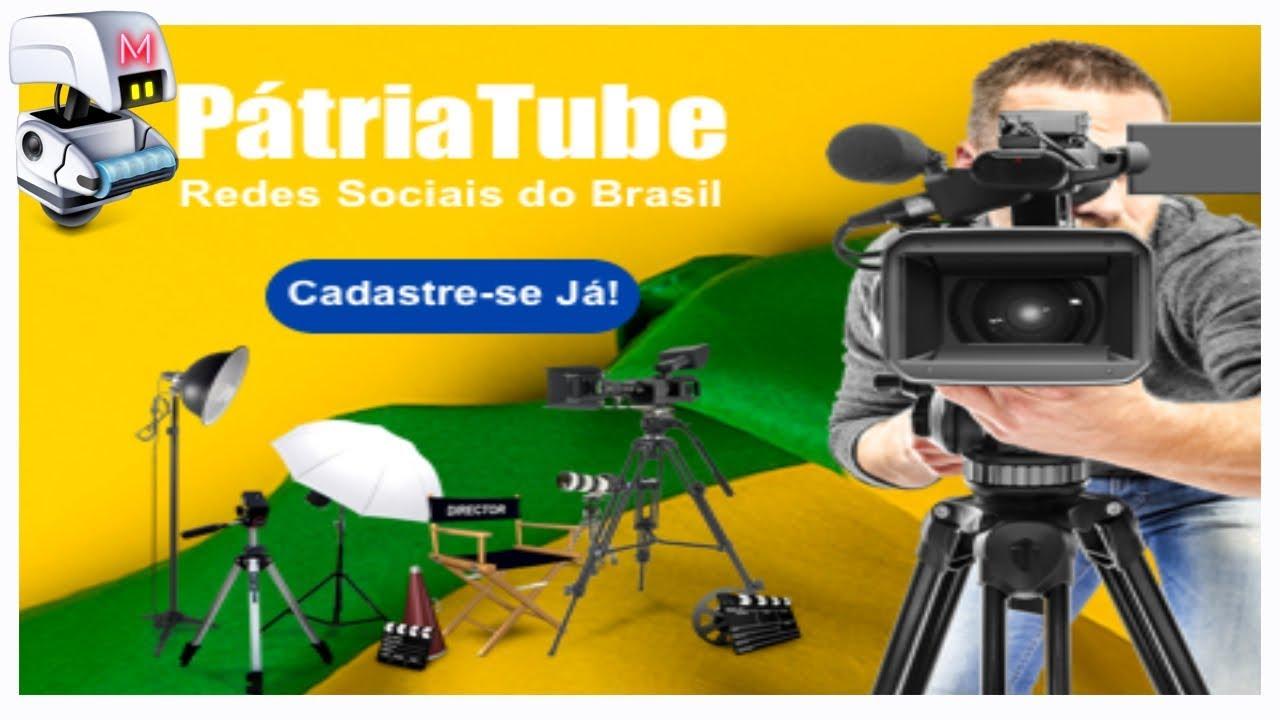 CONHEÇA A NOVO COMUNIDADE DE VIDEOS PATRIA TUBE
