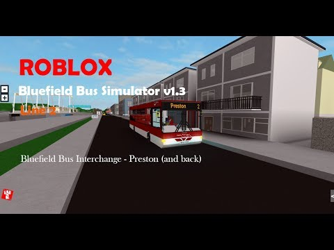 ROBLOX | Bluefield Bus Simulator v1.3 | Line 2 | Wright Cadet
