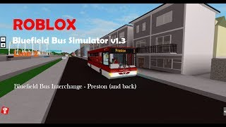 ROBLOX | Bluefield Bus Simulator v1.3 | Line 2 | Wright Cadet