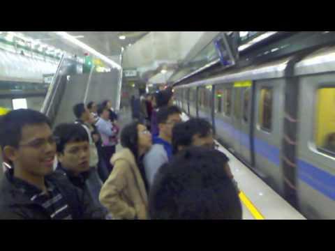 Mass Rapid Transit at Taipei Taiwan