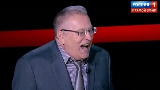 Top Russian pol Zhirinovsky CRUSHES Merkel and Europeans with joke