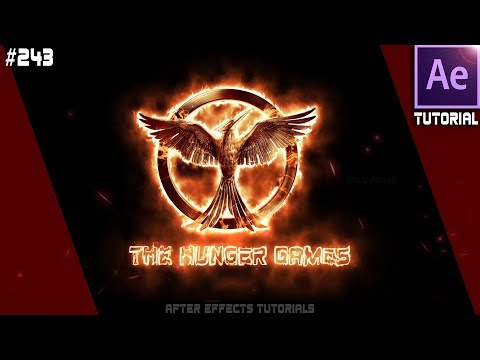 Fire Logo Animation    Burning Fire Logo - After Effects Tutorial by Balu Prime