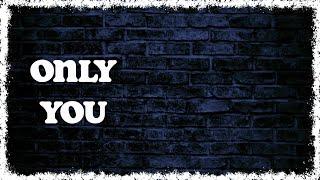 Holly Tatnall - Only You (Yaz / Alison Moyet Cover) (Lyric Visualizer)