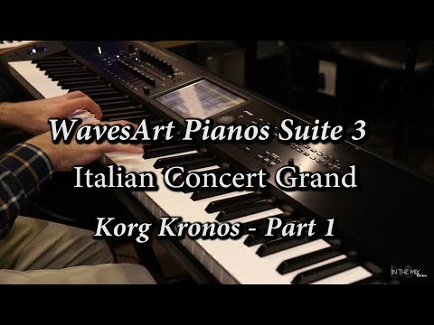 Pianos Suite 3 - WavesArt Korg Kronos Itallian Grand