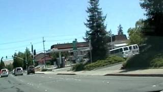 Marcelus Candido driving in Walnut Creek - Concord, California, USA
