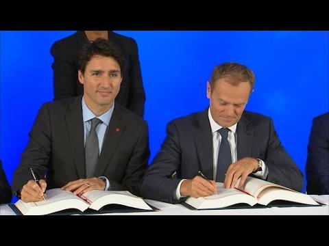 European Parliament votes on EU-Canada trade deal
